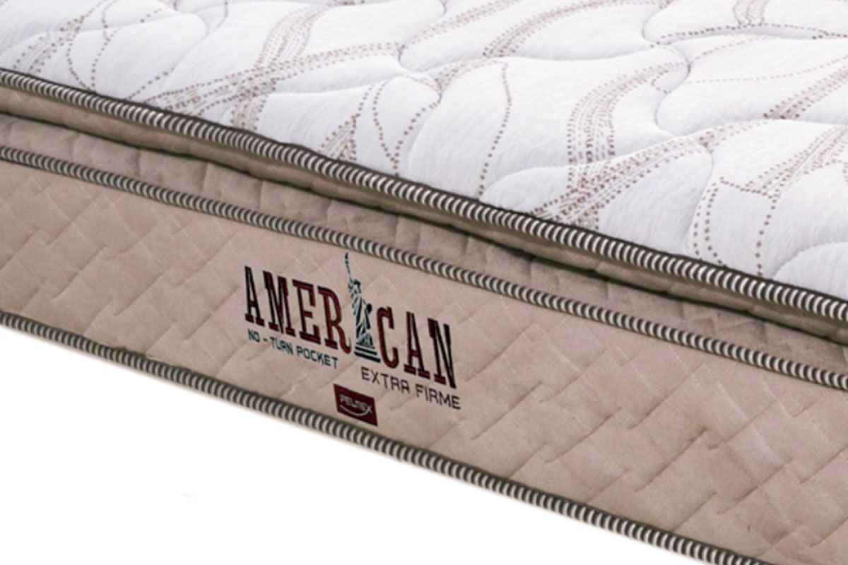 Colchão Pelmex de Molas Pocket American Extra Firme Pillow Top
