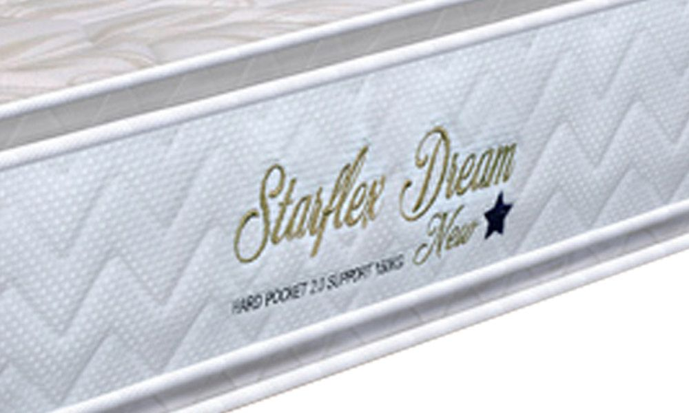 Colchão Orthoflex de Molas Pocket Starflex Dream New Pillow Top