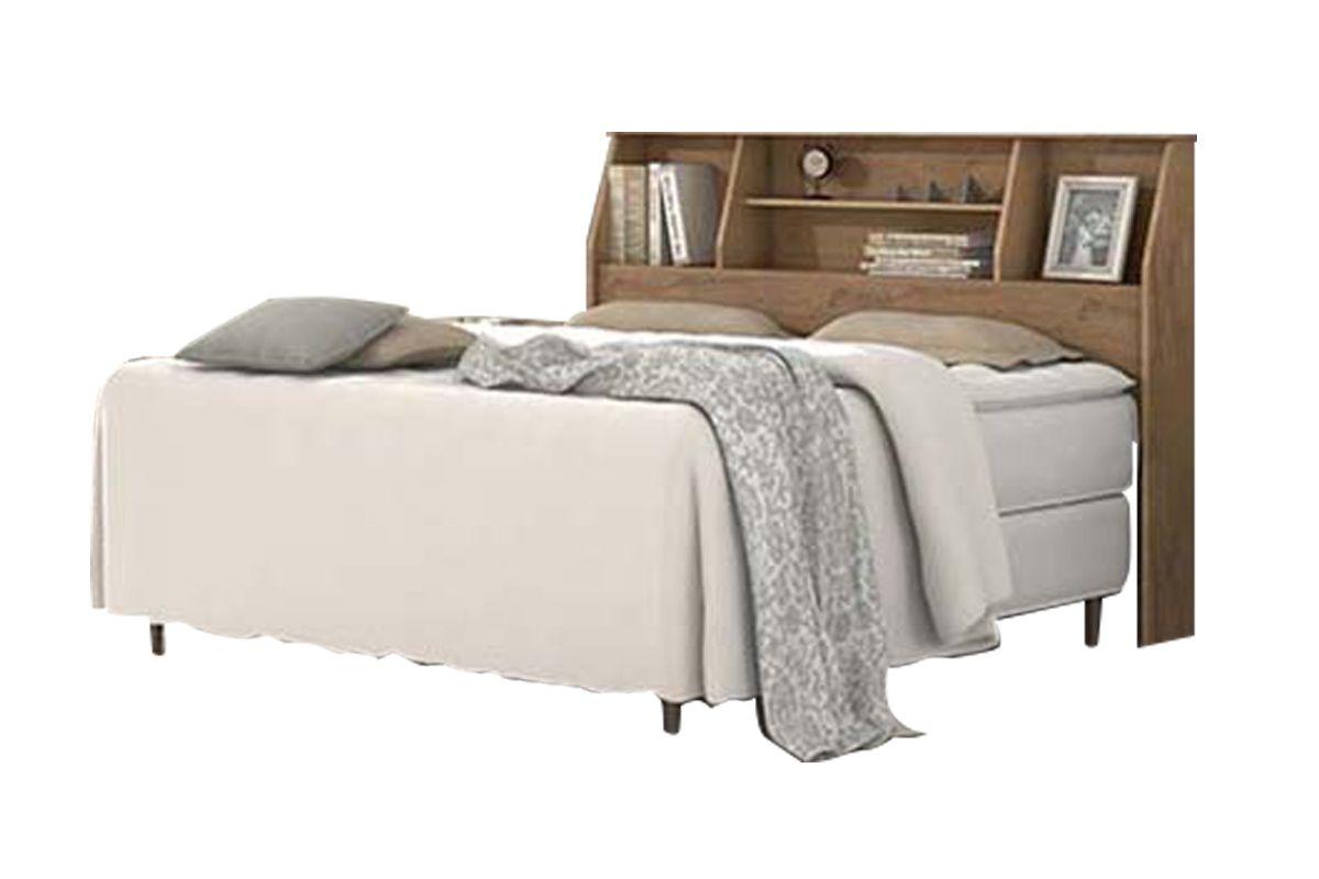 Cabeceira cama box casal lopas castellaro cor branco for Cama queen costa rica
