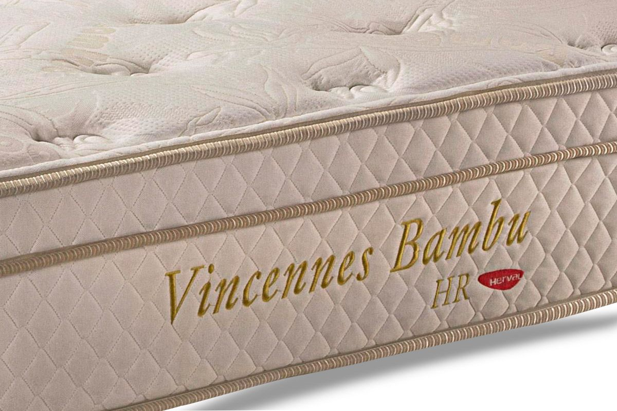 Colchão Herval de Molas Pocket Vincennes HR Bamboo Euro Pillow