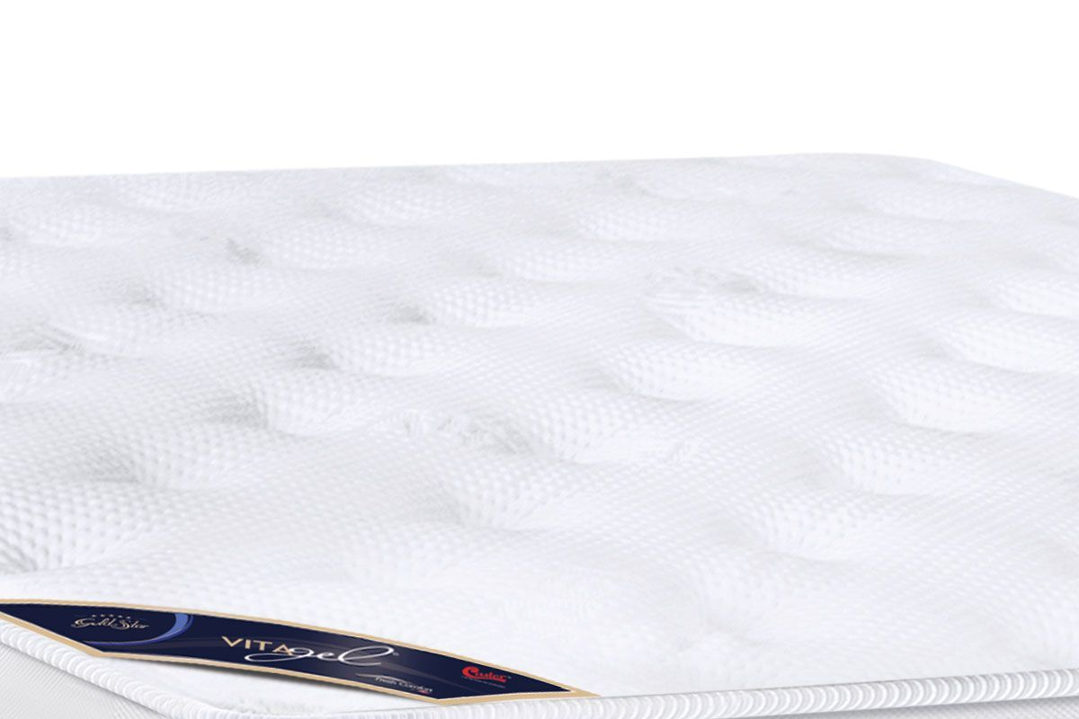 Colchão Castor de Molas Pocket Gold Star Vitagel Max Europillow