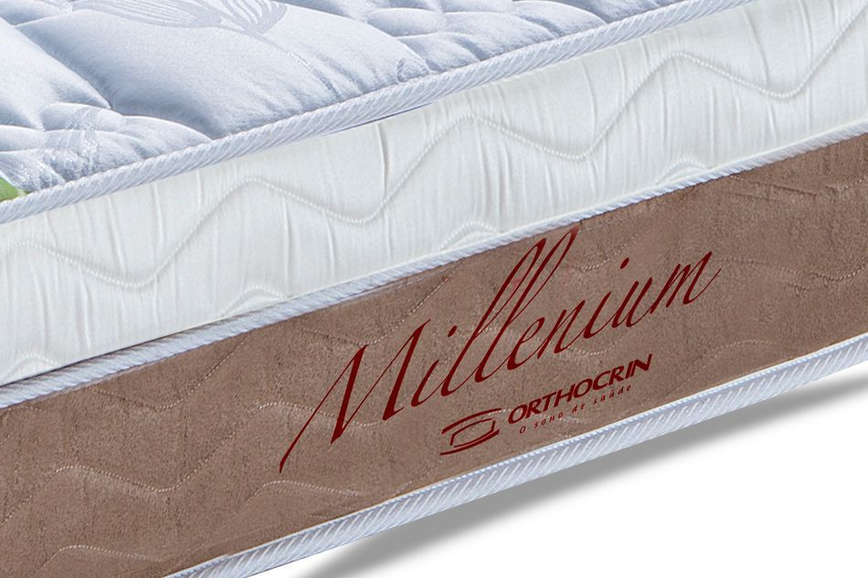 Colchão Orthocrin de Molas Superlastic Millenium Pillow Top
