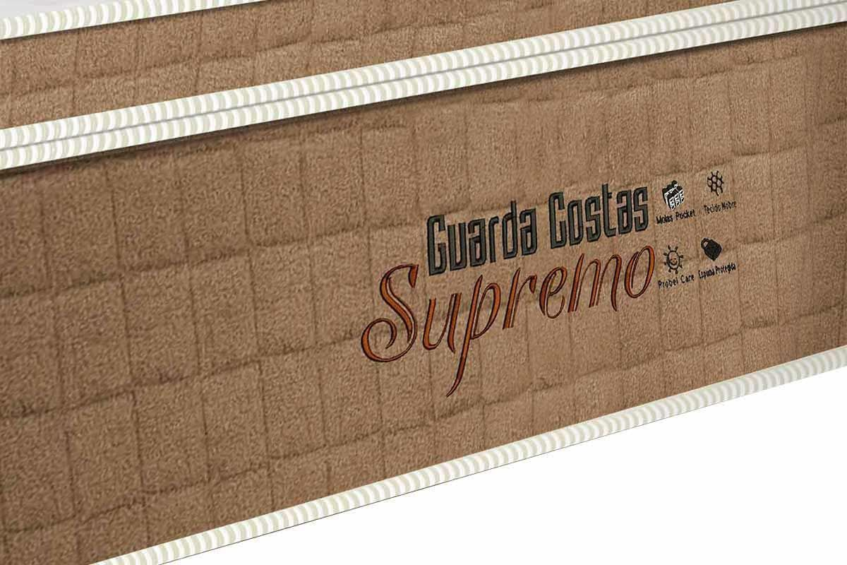 Colchão Probel de Molas Pocket Guarda Costas Supremo Pillow Euro