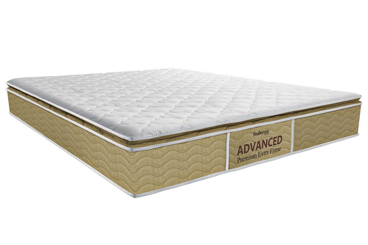 Colchão Probel de Espuma ProDormir Advanced Premium Extra Firme Pillow Top