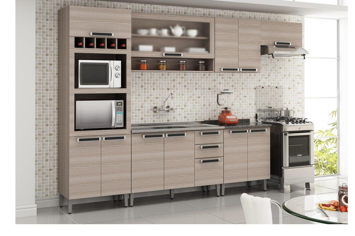 Pin Cozinha De Madeira Armário De Cozinha Itatiaia Armários De  #A63B25 1200x800