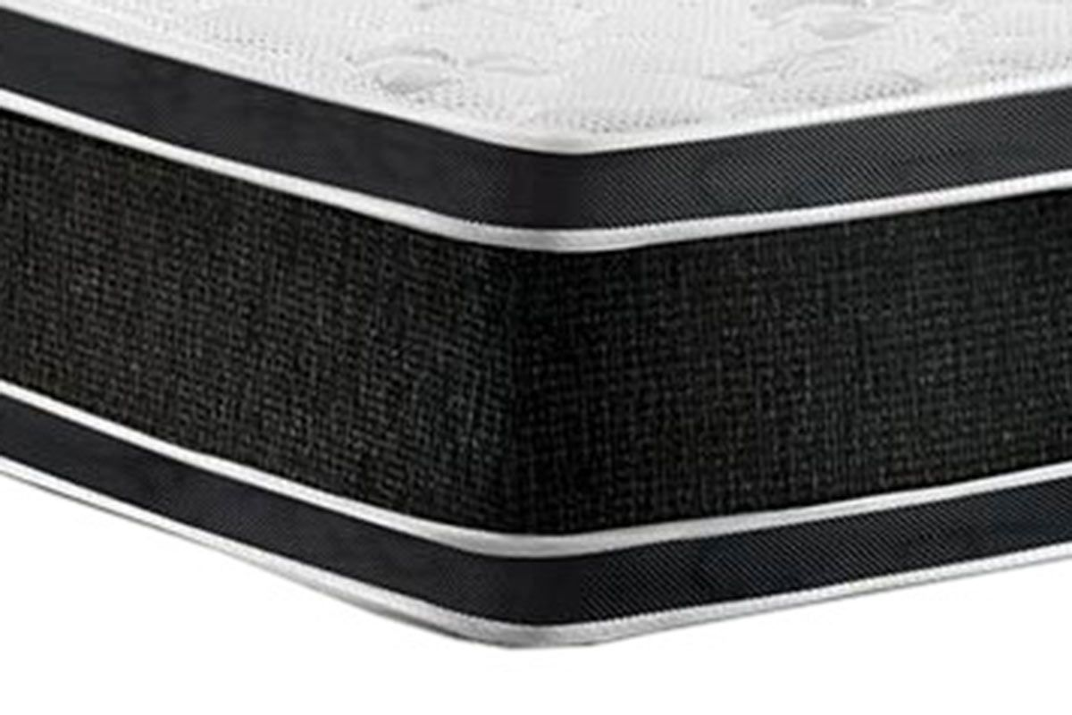 Colchão Castor de Espuma D33 Black e White AIR Double Face Euro Pillow Selado INMETRO e INER
