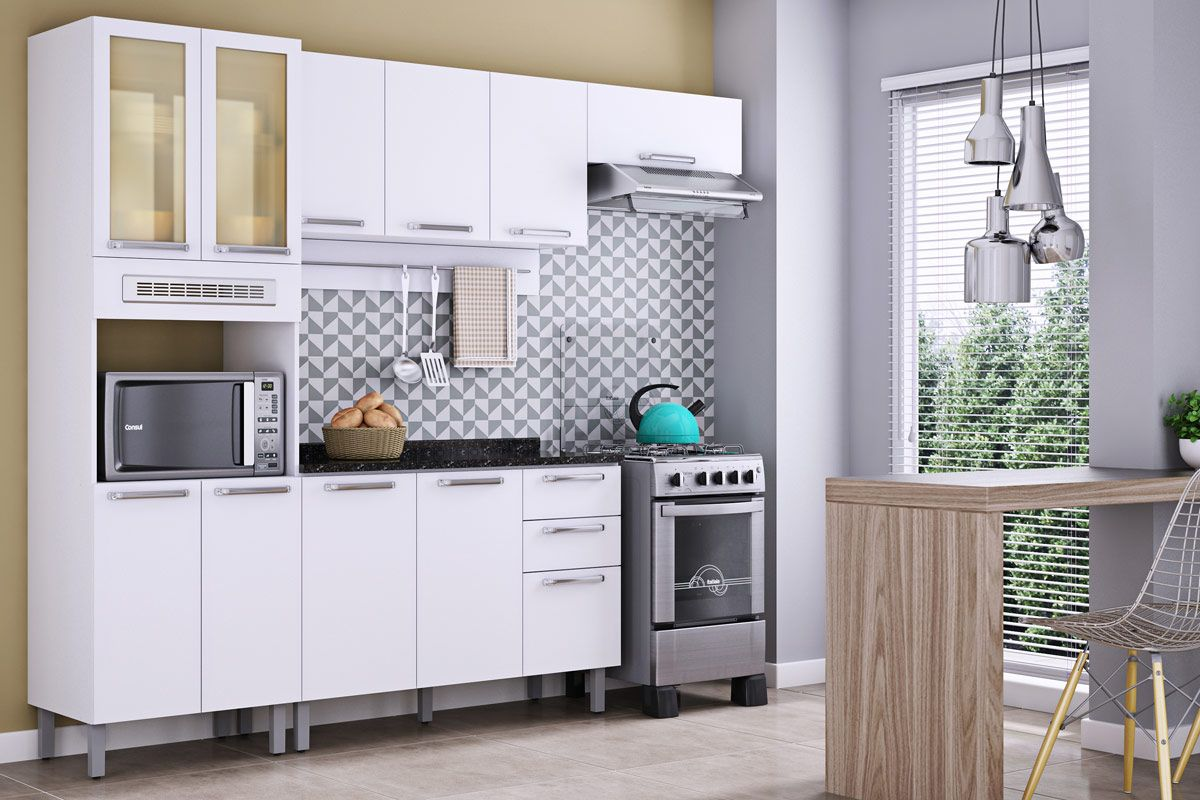 Paneleiro De Cozinha Itatiaia Cacau Ipl2p2pv 65 1fno Madeira C 4