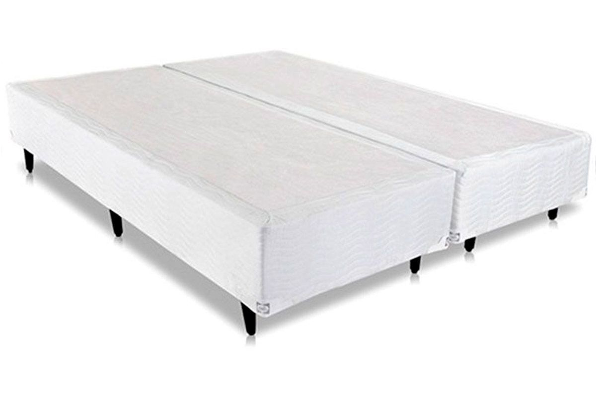 Cama Box Base Sealy Universal Bege