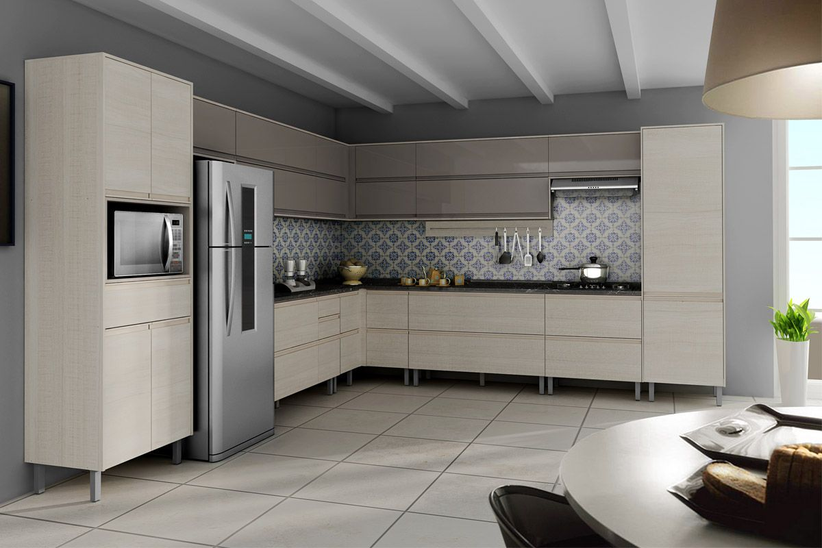 Gabinete Cooktop De Cozinha Itatiaia Bel Ssima Madeira Horinzontal 2