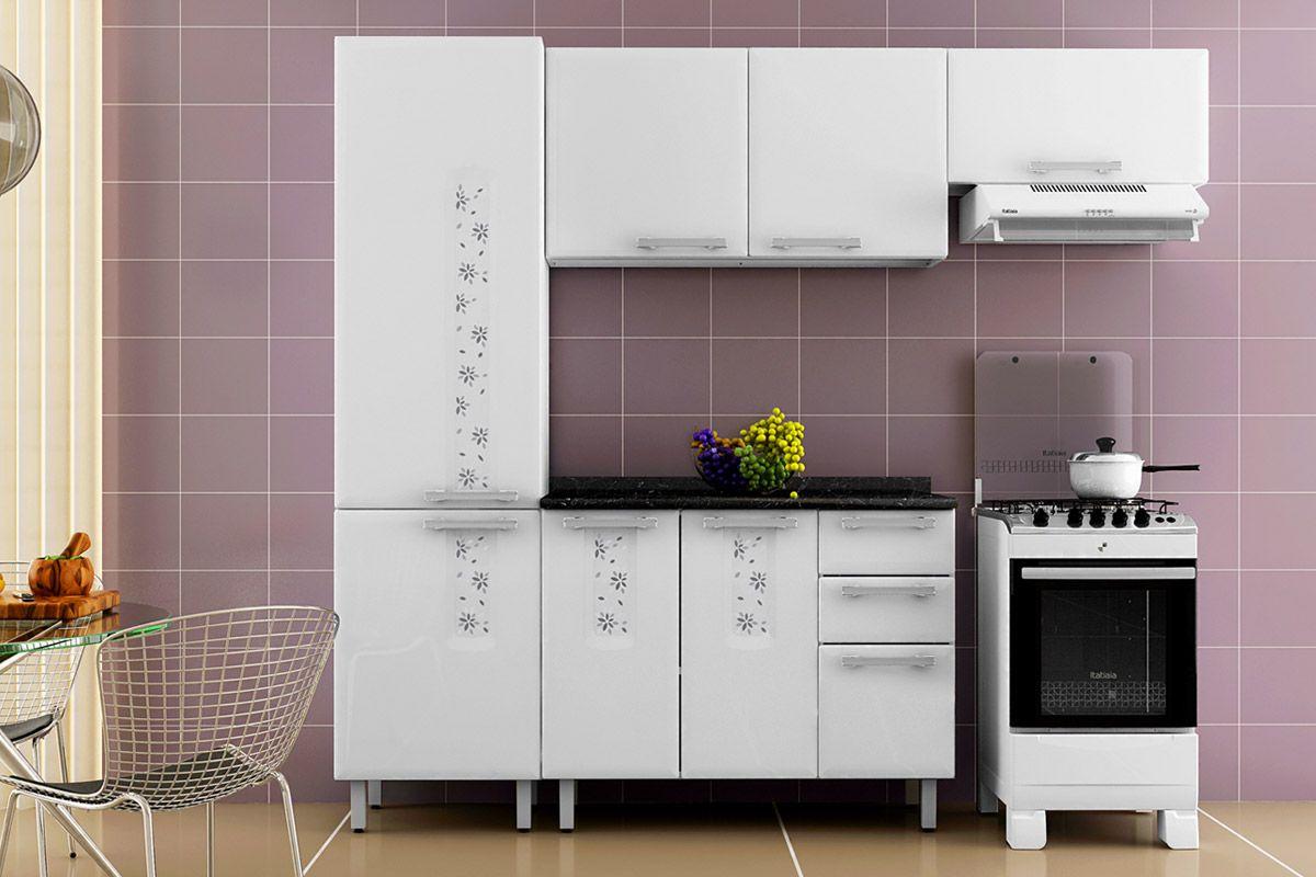 Armário de Cozinha Itatiaia Aéreo Essencial Bella/Nature IP2 120  #A36628 1200 800