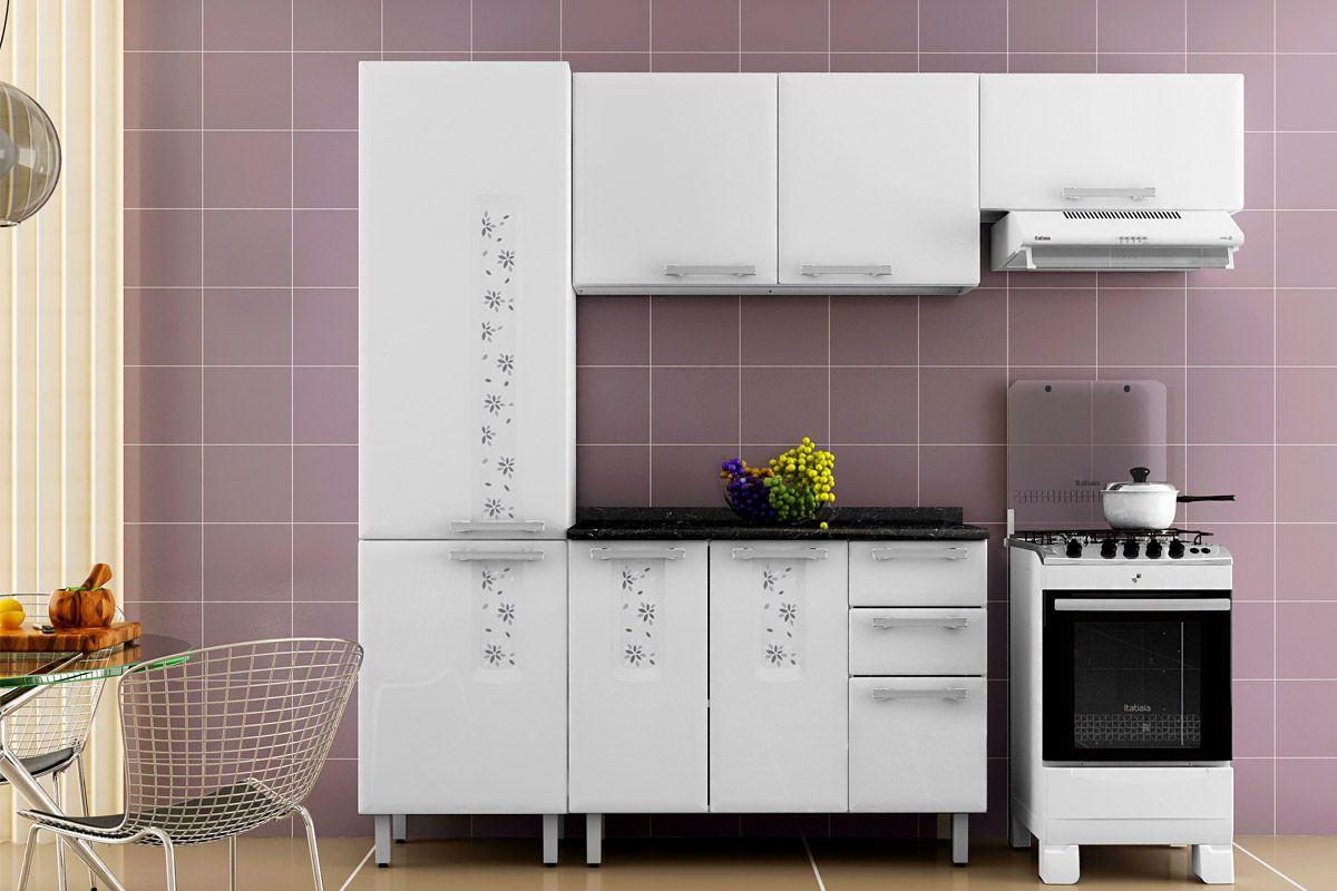 Armário de Cozinha Itatiaia Aéreo Essencial Bella/Nature IPH 69 Aço  #AC6B1F 1200 800