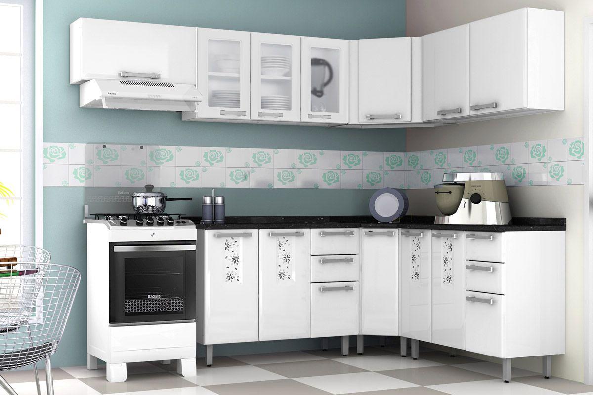 Gabinete (Balcão) de Cozinha Itatiaia de Canto Essencial Bella/Nature  #587372 1200 800
