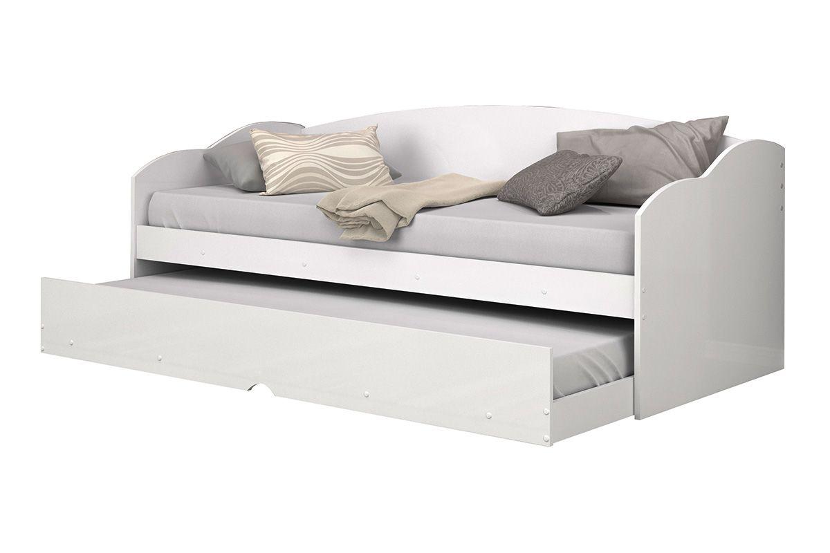 Sof cama conquista funny c auxiliar cor cinza com preto for Outlet de sofa cama