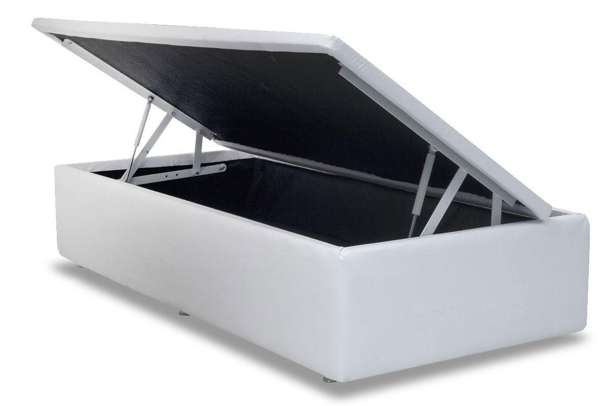 Cama Box Baú Ortobom Couríno Bianco