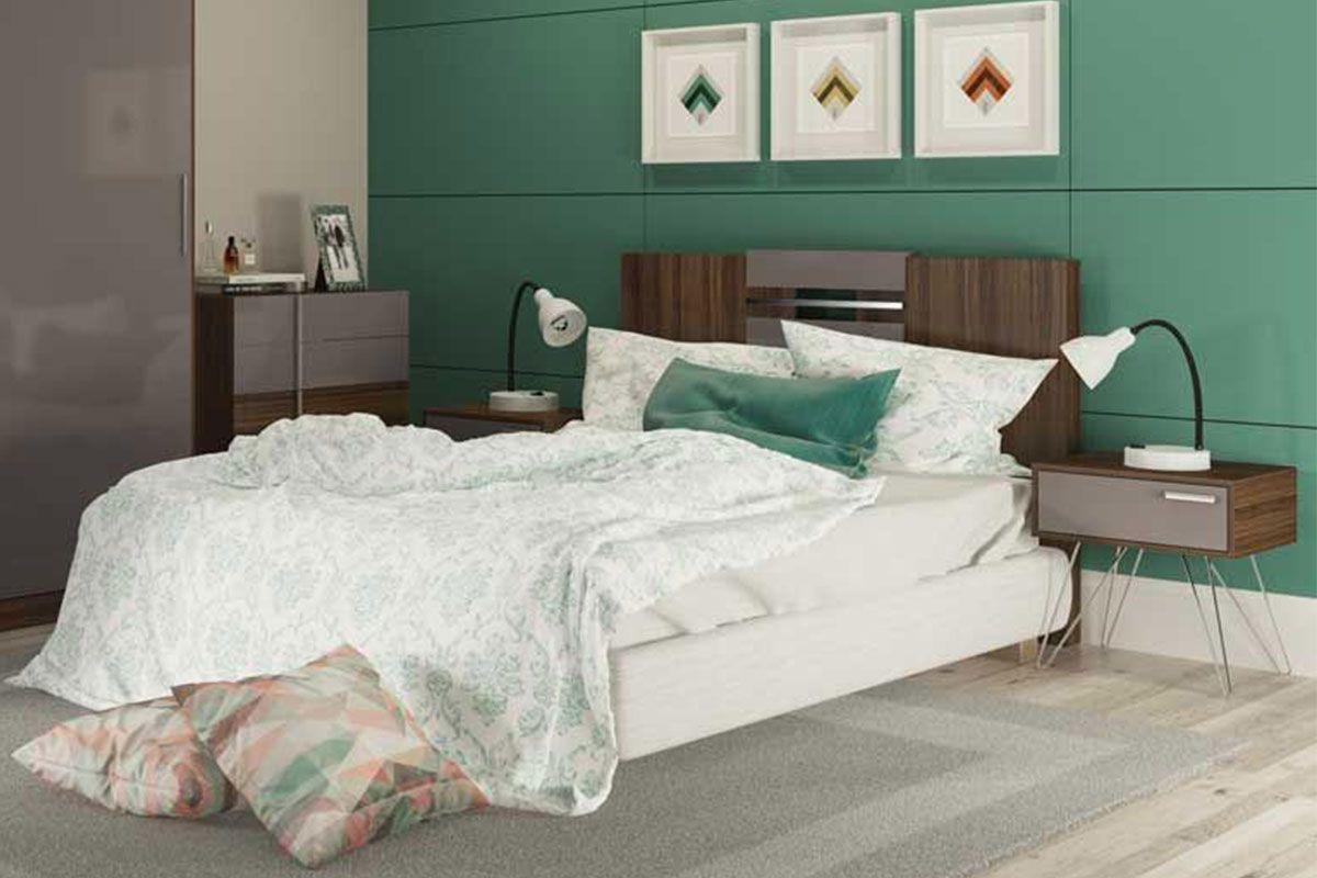 Painel cama box casal queen carraro elegance 1019 cor for Cama queen costa rica