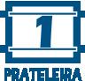1 Prateleira