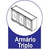 Armário Triplo