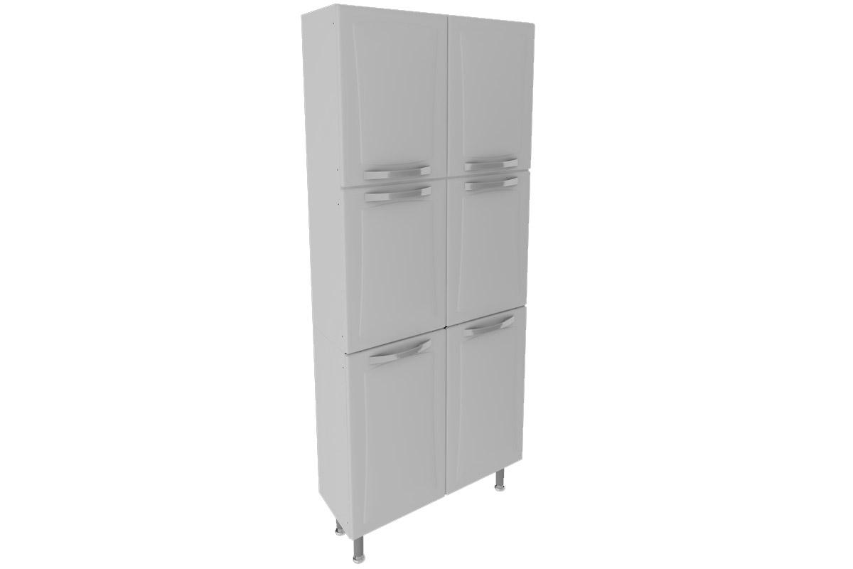 Paneleiro de Cozinha Itatiaia Itanew Duplo IPLD 80 Aço c/ 6 Portas  #666666 1200 800