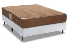 Conjunto Box - Colchão Ortobom de Molas Nanolastic Orthotel + Cama Box Universal Couríno White