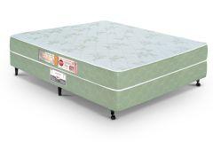 Conjunto Cama Box - Colchão Castor de Espuma D33 Sleep Max  +  Cama Box Universal Couríno White
