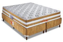 Colchão Orthocrin de Molas Pocket Prestige Euro Pillow Pró Saúde Selado INER