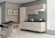 Cozinha Completa Itatiaia Belíssima de Madeira Kit 6 Peças CZ09