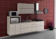 Cozinha Completa Itatiaia Belíssima de Madeira Kit 4 Peças CZ03