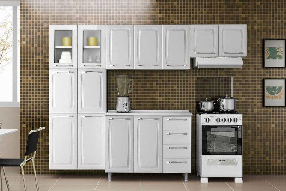 Cozinhas Completas Cozinha Modulada Completa Com Portas E Gavetas