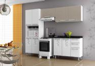 Cozinha Compacta Itatiaia Essencial Bella de Aço Kit 4 Peças CZ22