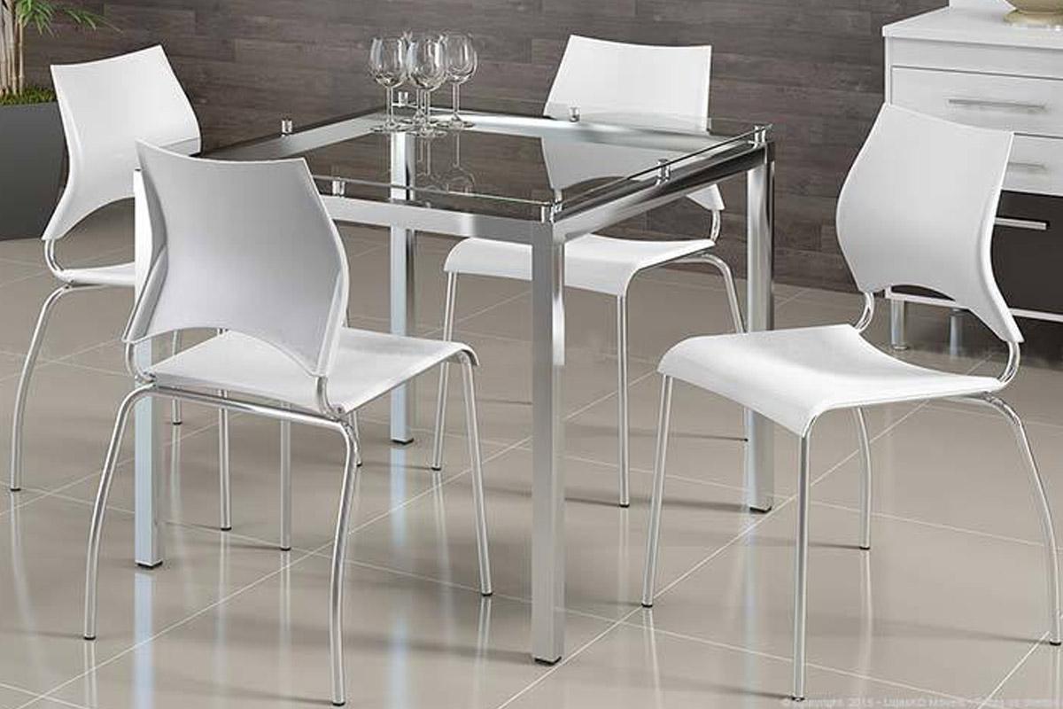 Conjunto Sala de Jantar Conjunto de Mesa Carraro 326   4 Cadeiras 357 #70665B 1200x800