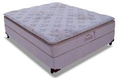 Conjunto Cama Box - Colchão Probel de Molas Prolastic Parati + Cama Box Universal Couríno White