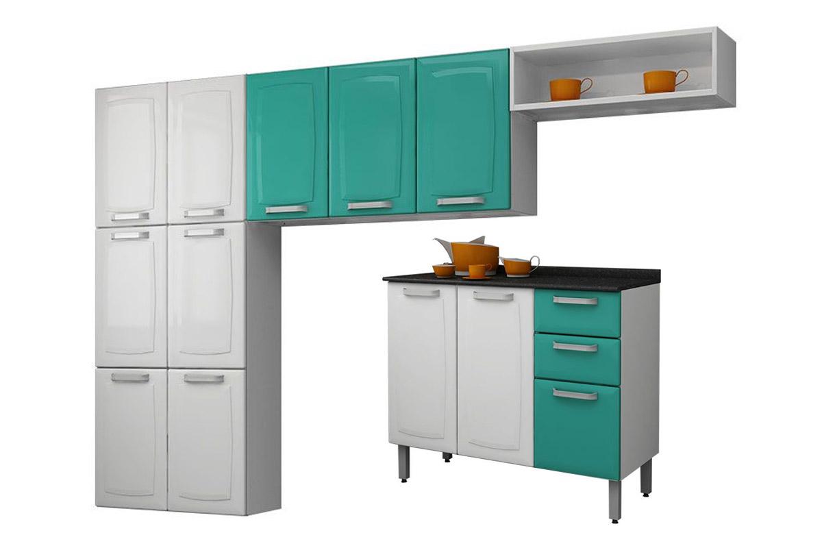 Cozinha Compacta Itatiaia Luce Aço COZ C IG3G2 105 Costa Rica  #B26509 1200 800