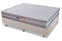 Colchão Paropas de Espuma Ortopédica Vitally White Pillow Top Selado INMETRO