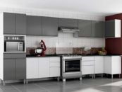 Cozinha Completa Itatiaia Stilo Plus de Aço c/ 8 Peças CZ27