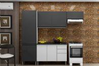 Cozinha Completa Itatiaia Stilo Plus de Aço c/ 4 Peças CZ26