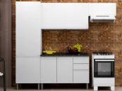 Cozinha Completa Itatiaia Stilo Plus de Aço Kit 4 Peças CZ034
