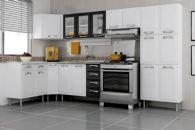 Cozinha Completa Itatiaia Premium de Aço c/ 7 Peças CZ23