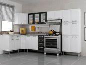 Cozinha Completa Itatiaia Premium de Aço Kit 07 Peças CZ040