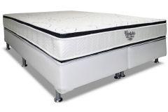 Colchão Ortobom de Molas Nanolastic Ventura Duo Zone Pillow Top Duplo