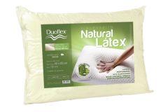 Travesseiro Duoflex Natural Látex Capa Percal 200 Fios