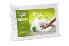 Travesseiro Duoflex Real Látex Capa Dry Fresh