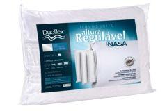 Travesseiro Duoflex Nasa Viscoelástico Regulável  4 Alturas