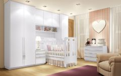 Quarto Infantil (Bebê) Modulado Exclusive Henn Completo c/ 9 Módulos QIM01