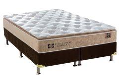 6f190e78e Colchão Sealy · Conjunto Cama Box - Colchão Sealy de Molas Posturepedic  Doux Confort + Cama Box Universal Nobuck