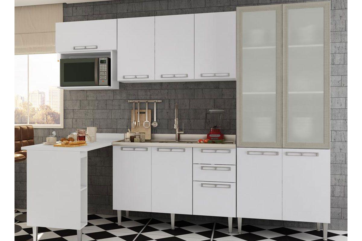 Cozinha Completa Art In M Veis Mia Coccina C 6 Pe As Cz53 S Pia