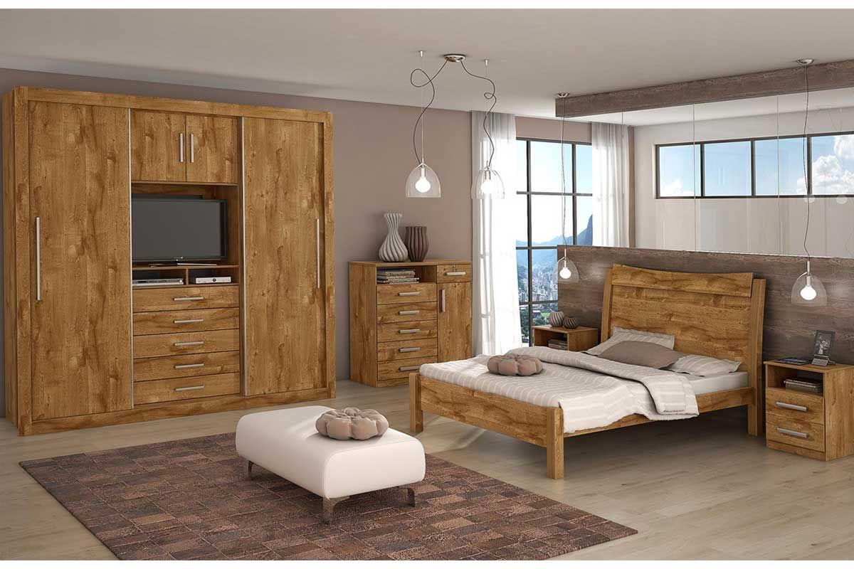 Home Móveis Casal Quarto de Casal Completo Quarto de Casal Completo  #88633E 1200x800