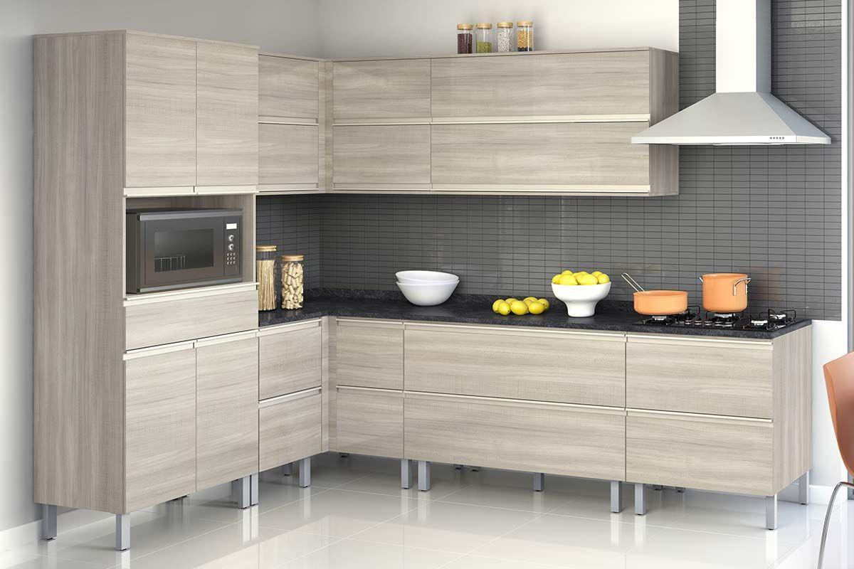 Cozinha Com Ilha Completa Beyato Com V Rios Desenhos Sobre