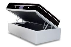 Cama Box Baú Ortobom Courino White