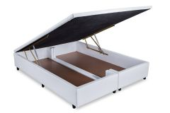 Cama Box Baú Orthocrin Couríno White