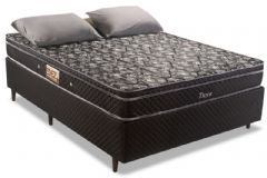 Cama Box Base Universal Nobuck Nero Black 0.20